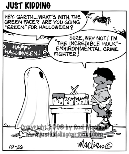 Post Halloween Humor | Teacherplanet.com