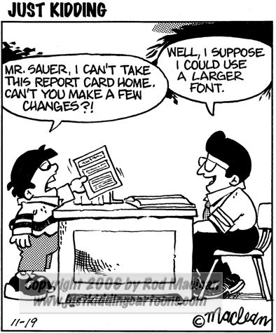 make a report card online free