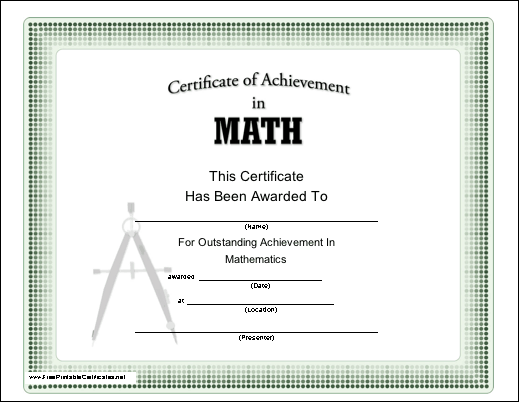 math achievement award lessons worksheets and activities. Black Bedroom Furniture Sets. Home Design Ideas